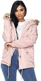 bubble coat with fur hood