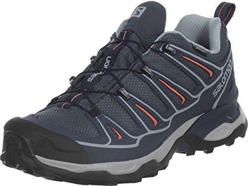 Salomon X Ultra 2 GTX W Zapatillas de Senderismo, Mujer, Gris (Gris/(Grey...