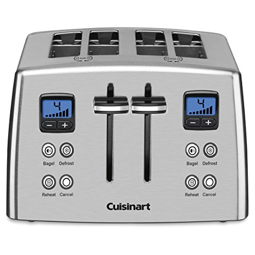 Cuisinart CPT-435C 4-Slice Countdown Metal Toaster - Stainless Steel