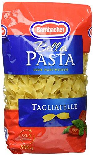 Bernbacher Pasta 500g - Tagliatelle, 5er Pack (5 x 500 g Beutel)