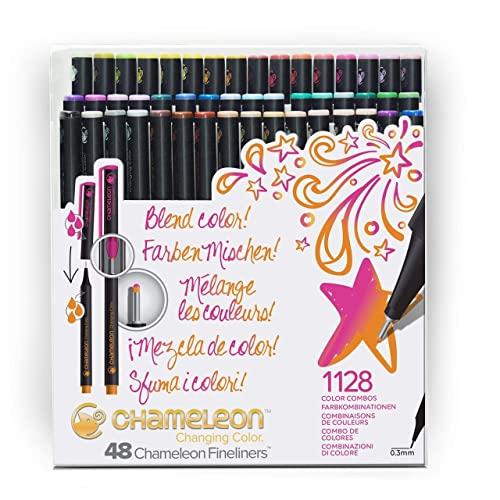 Chameleon Fineliners Brillante Farben - Set von 48 Stück