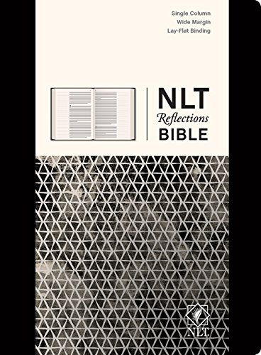 NLT Reflections Bible (Hardcover Deluxe, Sketchbook Black): The Bible for Journaling