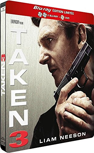 Taken 3 [Edition Limitée Blu-ray Collector Steelbook® - 2 Blu-ray + 1 DVD]