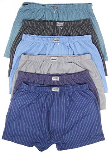 Moderei große Größe Pesail Herren Boxershorts Premium-Qualität in Multi Farben(Stück 8, 6XL) …