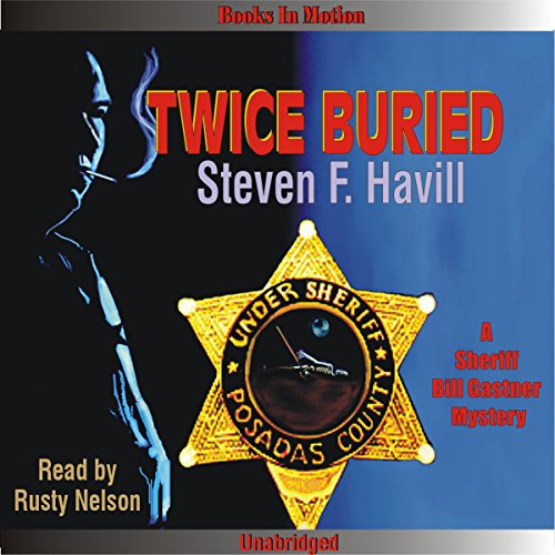 Twice Buried audiobook cover art