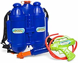 High five Squirt gun water toy mega drench tank backpack water blaster