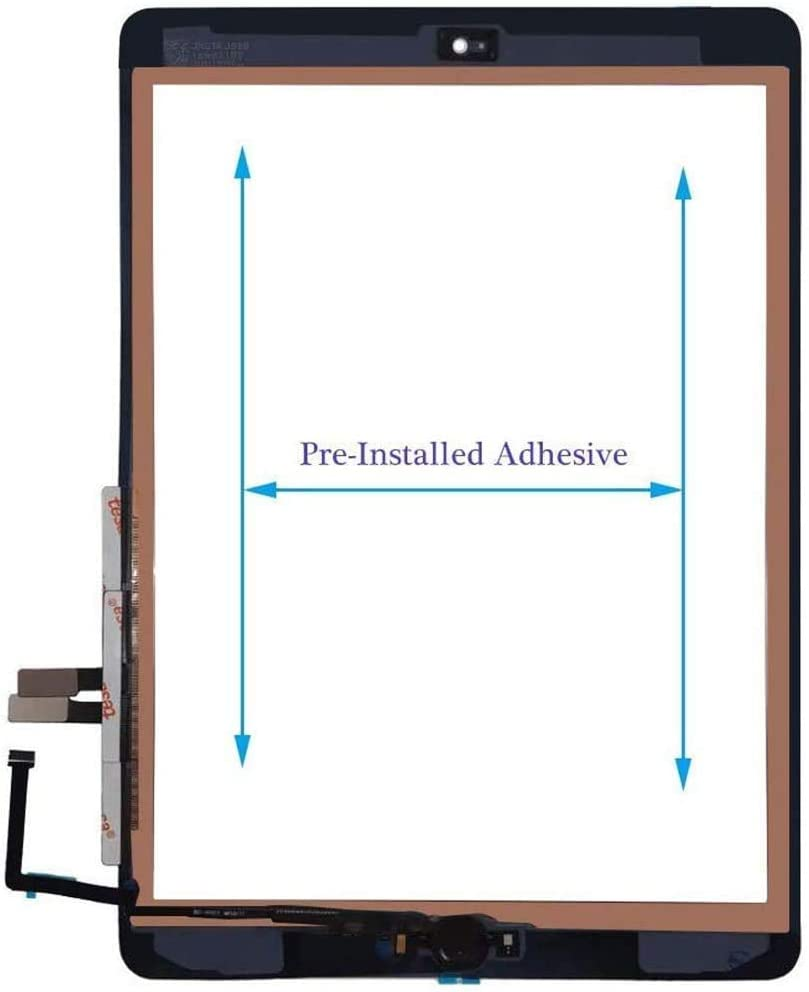 NewHail Touch Screen Digitizer for iPad 5th Generation 9.7