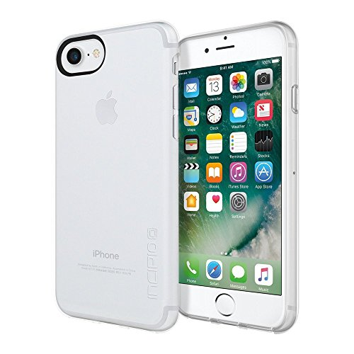 Incipio NGP Pure Hülle für Apple iPhone SE (2020) / 8 / 7 / 6S - transparent [Stoßfest I Reißfest I Flexibel I Transparent] - IPH-1480-CLR