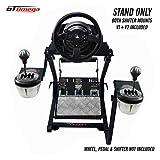 GT Omega PRO Supporto per Volante per Thrustmaster T300 RS Force Feedback Ruota da Corsa e Pedali -...