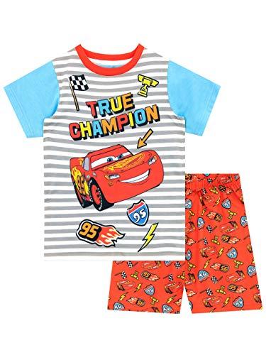 Disney Jungen Cars Schlafanzug Rot 128