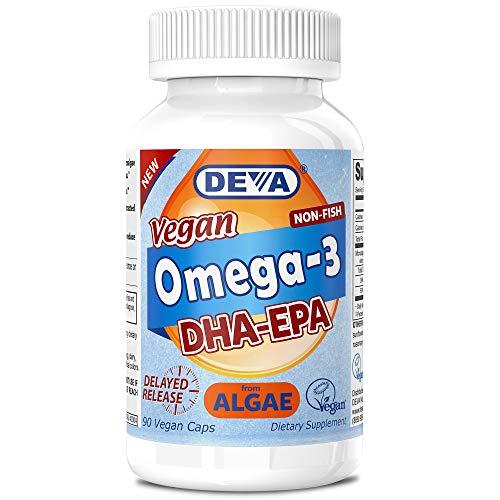 Deva, Vegan, Omega-3, DHA-EPA, 200 mg, 90 Vegan...