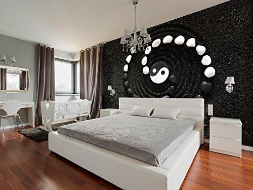 Fotomural Vinilo Pared Zen Yin Yang | Fotomurales | Fotomural Pared | Fotomural Decorativo | Vinilo Decorativo | Varias Medidas 350 x 250 cm | Decoración comedores, Salones | Diseño Elegante