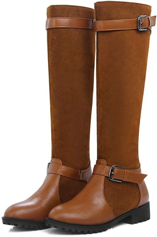 Fashion Wild High Boots Scrub Women's Boots