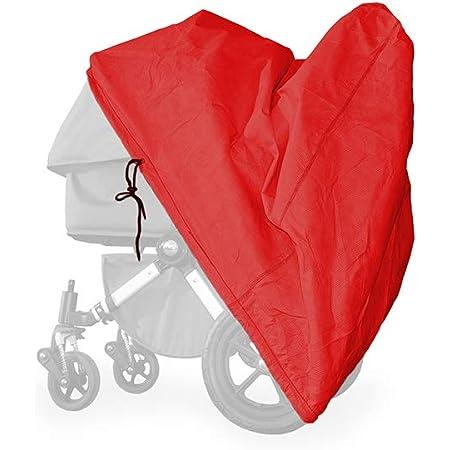 alucush Abdeckung f/ür Kinderwagen Hartan VIP XL Regenschutz Regenverdeck