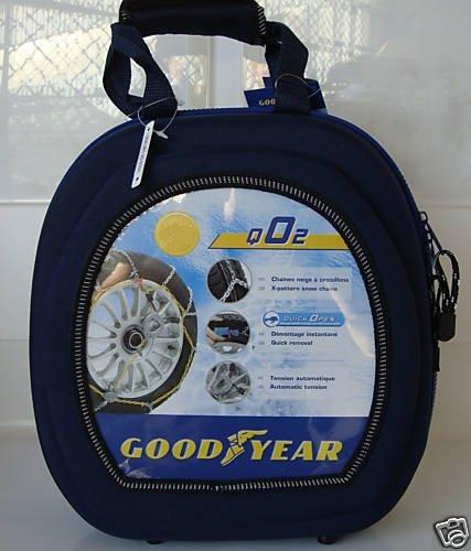 Goodyear Siepa Chaine Neige QO2 N°6 BIS pour Taille: 195/55x15, à Croisillons/Tendeur Automatique