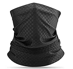 JTENG balaclava , balaclava winter , winter face mask , motorcycle face mask for men and women milk fleece ski mask, thermal fabric breathable windproof thermal universal size. (Black)