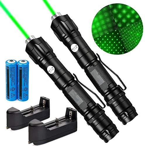 LOT 2 Pc Green Pointer best Military Beam Pen long range pointer Astronomy US