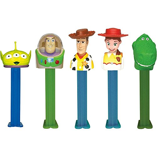 Pez - Toy Story Candy and Dispenser, 1 unit, 0.87z, (Character May Vary)