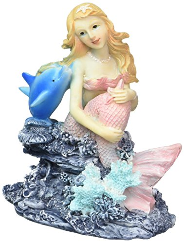Pen Plax RR1003 Mermaid Aquarium Ornament