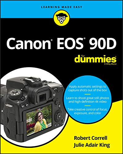 Canon EOS 90D For Dummies (English Edition)