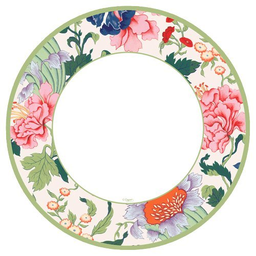 Blanco Fleurs du mariage Caspari Floral Cóctel Servilletas Mesa de papel 25 Cm