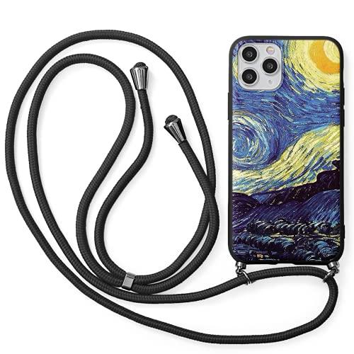 Pnakqil Funda con Cuerda para Huawei Honor 8X, Carcasa TPU Suave Silicona...