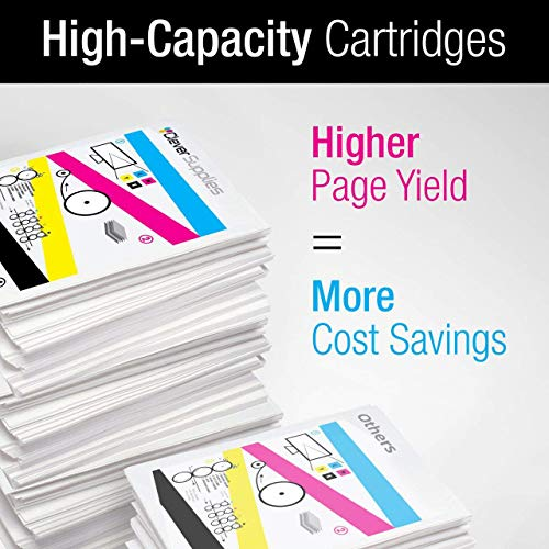 CS Compatible Toner Cartridge Replacement for HP M750n CE270A Black CE271A Cyan CE272A Yellow CE273A Magenta HP 650A Color Laserjet CP5520 CP5520dn Enterprise CP5520 M750 M750dn CP5520n 4 Color Set Photo #3