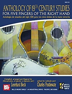 Anthology of 19th Century Studies: For Five Fingers of the Right Hand