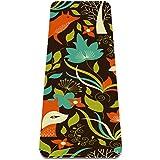Eslifey Fox Patern - Esterilla de yoga gruesa antideslizante para mujeres y niñas, alfombrilla de ejercicio suave para pilates (72 x 24 pulgadas, 0,6 cm de grosor)