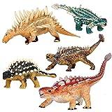 XINBANG simulación jurásica Dinosaurio 5 / Conjunto Jurásico Simulación De Juguete Dinosaurio Modelo Animal Mundo De Manicura De Plástico Sólido Dragón Regalo De Juguete De Los Niños.