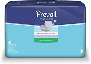 Prevail® Pant Liner Overnight Super, Case of 96
