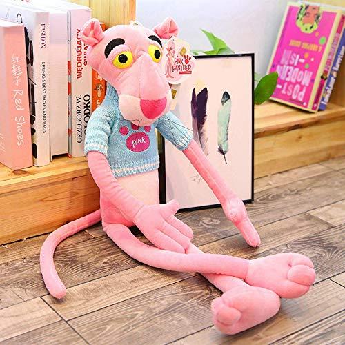 N / A 1 Juguete de Gran tamaño para bebés, Lindo y juguetón, Leopardo Rosa, muñeco de Peluche de Peluche, decoración del hogar para niños, Regalos de cumpleaños de Navidad, 80 cm
