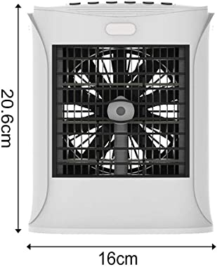astolily Portable 3 in 1 Air Conditioner Fan, Mini Mute Air Purifier Humidifier, Air Cooler for Bedroom Car Office