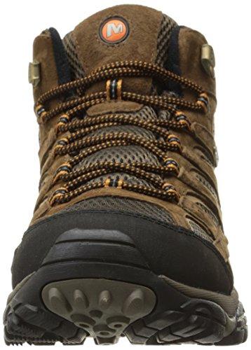 Merrell Men's Moab 2 Mid Waterproof Hiking Boot, Earth, 10.5 M US