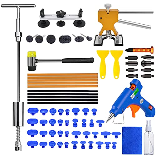 MENQANG Riparazione di Ammaccature Auto Kit,Riparazione ammaccature Strumento per la rimozione ammaccature Utilizzato per Riparare ammaccature sulla Superficie di Automobili, Porte e frigoriferi
