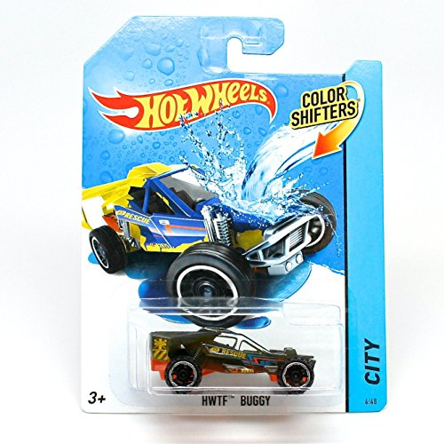 HWTF BUGGY * COLOR SHIFTERS * 2014 Hot Wheels City Series 1:64 Scale Vehicle #4/48 by Hot Wheels