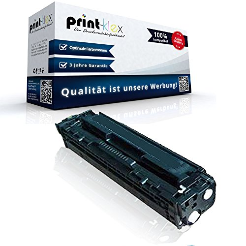 Print-Klex kompatible XXL Tonerkartusche für HP LaserJet Pro 200 color M251n M 251 nLaserJet Pro 200 color M251nw M 251 nw LaserJet Pro 200 color M276n M 276 n LaserJet Pro 200 color M276nw M276 nw CF-210X CF210X CF-210A Black Schwarz