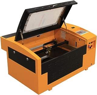 TEN-HIGH CO2 engrave Machine, Offline Version 50W 300x500mm Laser Engraving Machine with Exhaust Fan USB Port