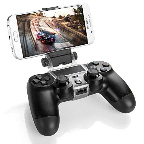 PS4 Controller Smart Phone clip di montaggio del supporto della staffa di supporto per Sony PlayStation 4 PS4 Dual Shock Wireless Controller [Playstation 4]
