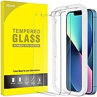 JETech Schermbeschermer Compatibel met iPhone 13/13 Pro 6,1-Inch, Gehard Glas Screen Protector met Eenvoudig te...