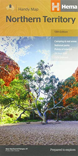 Northern Territory Handy Map 1 : 750 000