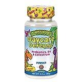 KAL Daycare Defense with Probiotics, D3 & Colostrum | Healthy Gut, Oral & Immune Support for Kids | Natural Vanilla Flavor Powder | 44 Servings