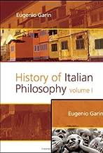 History of Italian Philosophy