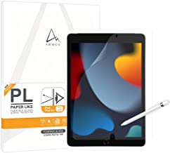 """ARMOR Flexible Glass Screen Protector for iPad Pro & Air 10.5""""/ iPad 10.2"""", Paper-Like with Blue..."""