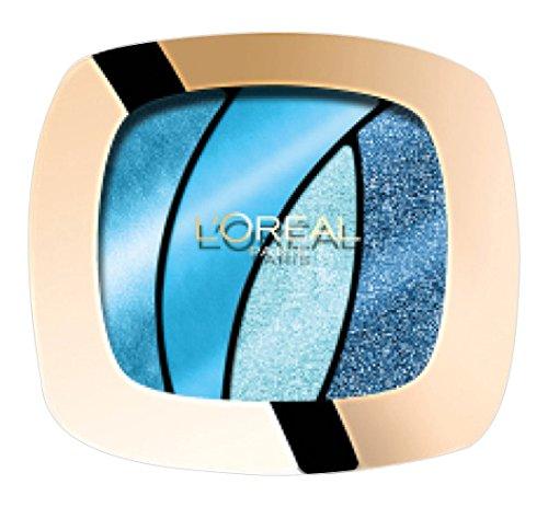 L'Oréal Paris Color Riche Quads Eyeshadow, S15 Turquoise Spell - Lidschatten Palette für ein...