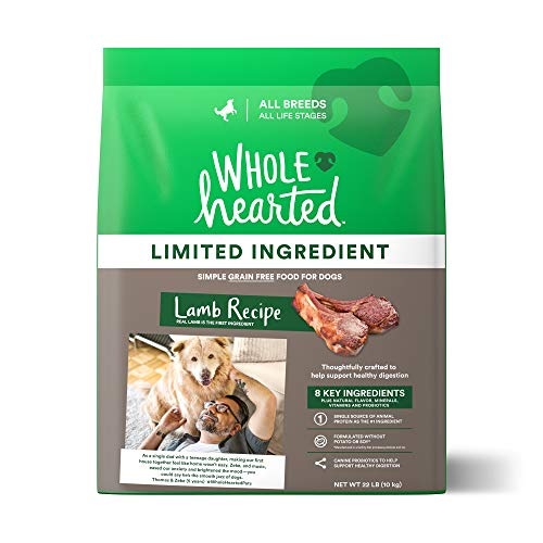 WholeHearted Grain Free Limited Ingredient