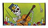 Boland 97022 Fahne Day of The Dead, Mehrfarbig