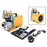 Bomba de aire eléctrica de alta presión de 300 bares, PCP, compresor de aire, juego de 30 MPa 0-6,8 L (versión inteligente)
