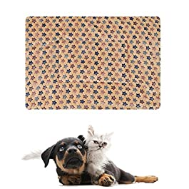 lffopt Dog Mat Puppy Blanket Kitten Bed Thick Pet Blanket Dog Crate Mat Warm Dog Blanket Washable Dog Bed Dog Blankets Washable Dog Crate Bed Cat Beds