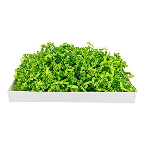 1 kg SizzlePak 066, Limette, grünes Füll- und Polsterpapier zum Füllen, Polstern, Ausstopfen, Dekorieren